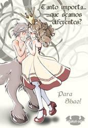 Princesa y centauro: Para Shao by Sakuli