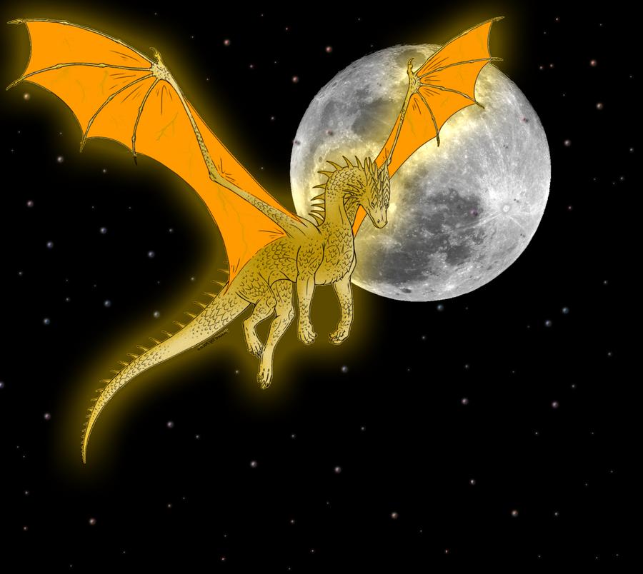 Full Moon Dragon: Time Dragon Full Moon By DragonSoul48 On DeviantArt
