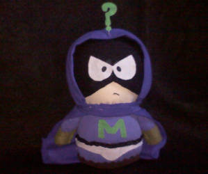 My Mysterion Plush by vvLeyvv