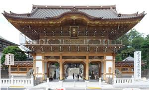 Narita Main Gate Front by juanmah