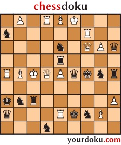 chessdoku by juanmah