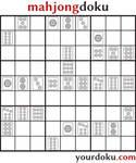 mahjongdoku circle