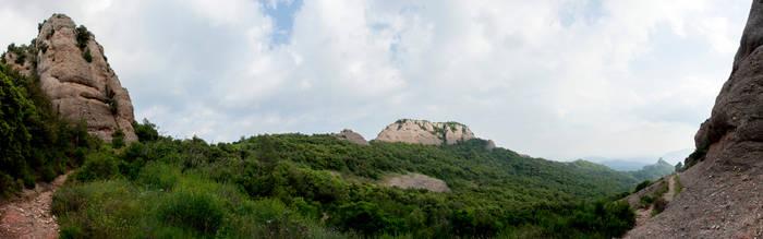 Castellsapera des del Coll de Tres Creus by juanmah