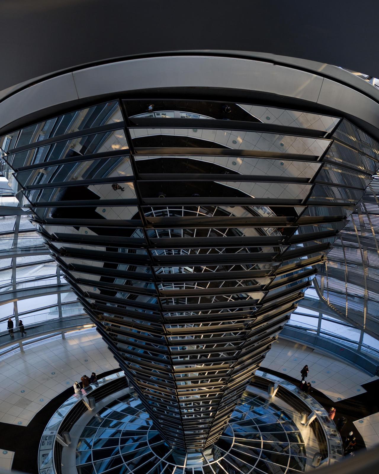 Reichstag Kupel oben