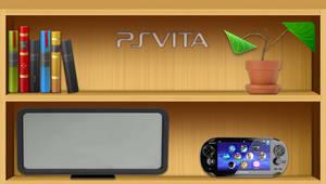 Bookshelf PS Vita wallpaper