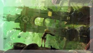 Gravity PS Vita start screen wallpaper