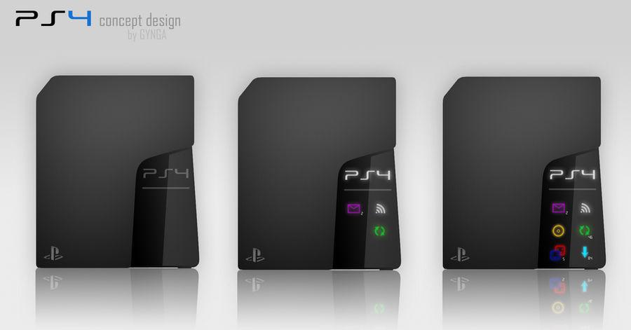 PS4 concept design (black)