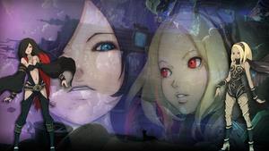 Kat vs Raven (Gravity Rush)