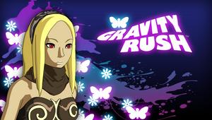 Gravity Rush purple PS Vita wallpaper