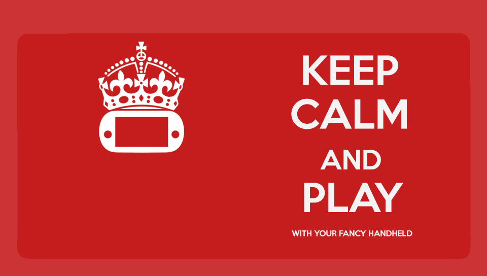 Keep Calm And Download The Wallpaper (PS VITA) By GYNGA On