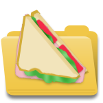 Sandwich web icon by sethness