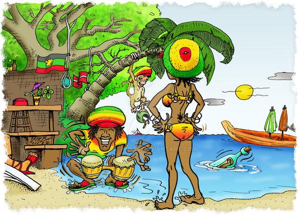 Reggae Dudes by sethness