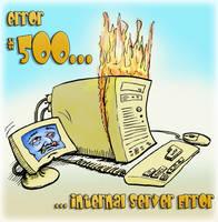 500: Internal Server Error 1 by sethness