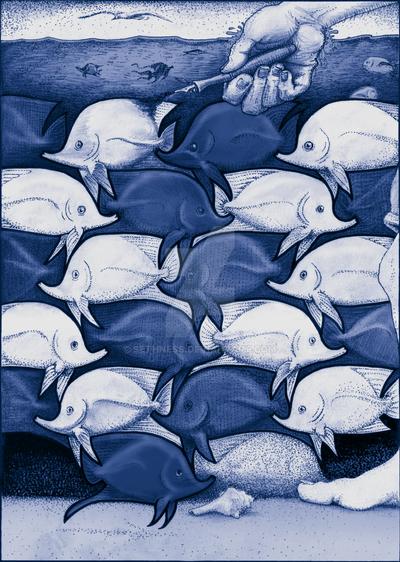 Tessellation: Liquid World by sethness