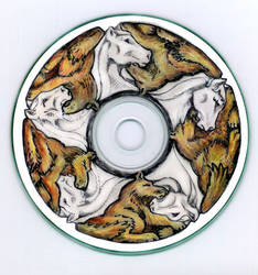 CD tessellation: Horse + Wolf by sethness