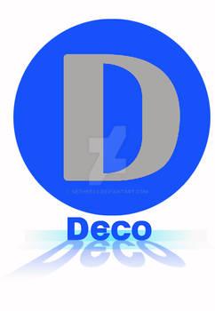 Ambigram: Deco Company Logo
