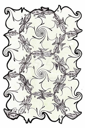 Tessellation: Seahorses and Fish