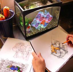 Goofy Goldfish 2 Tessellation