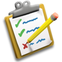 Clipboard icon by sethness