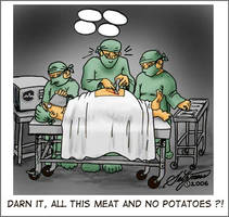 nsfw: meat no potatoes by sethness