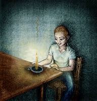 latenight candle lightsource by sethness