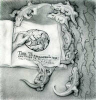 Pencil version of Lions+Gators by sethness