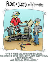NSFW: Beachcomber's Treadmill by sethness