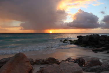 Sunset in Aruba by Cheryl-P