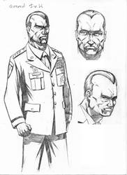 General Fields from The Continuum - Spades Comic