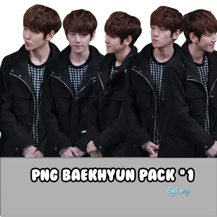 PNG BaekHyun(EXO) #1 by larry1042001