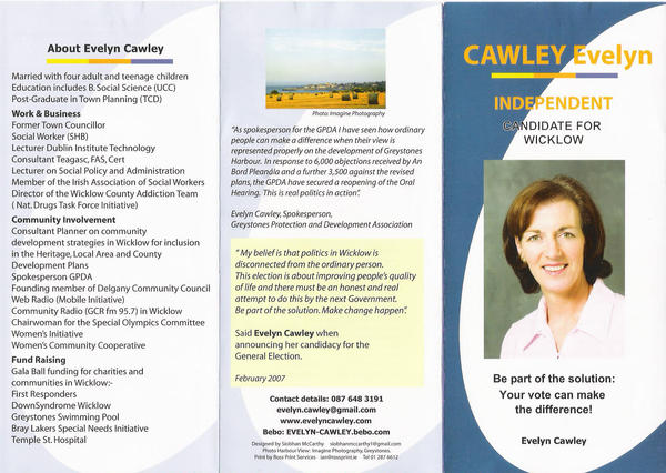 election brochure template - e cawley election pamphlet by sccmcc on deviantart