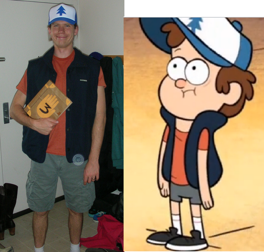 Gravity Falls Dipper Halloween Costume with Vol. 3 by RedCrosseKnight