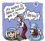 Apollo Justice: Vocal Training