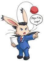 PW: Moogle Attorney by arashi-yukawa