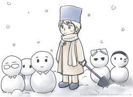 APH - Soviet snowmen