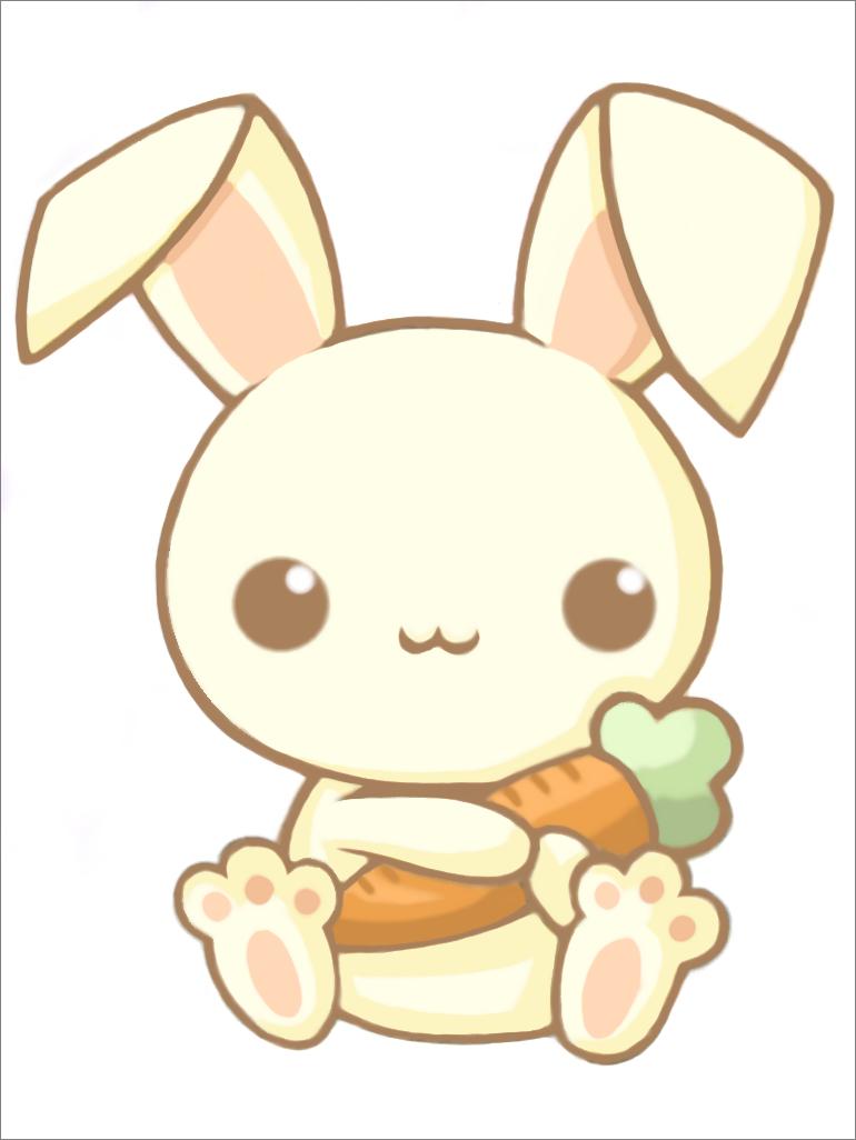 Chibi Bunny Wallpaper