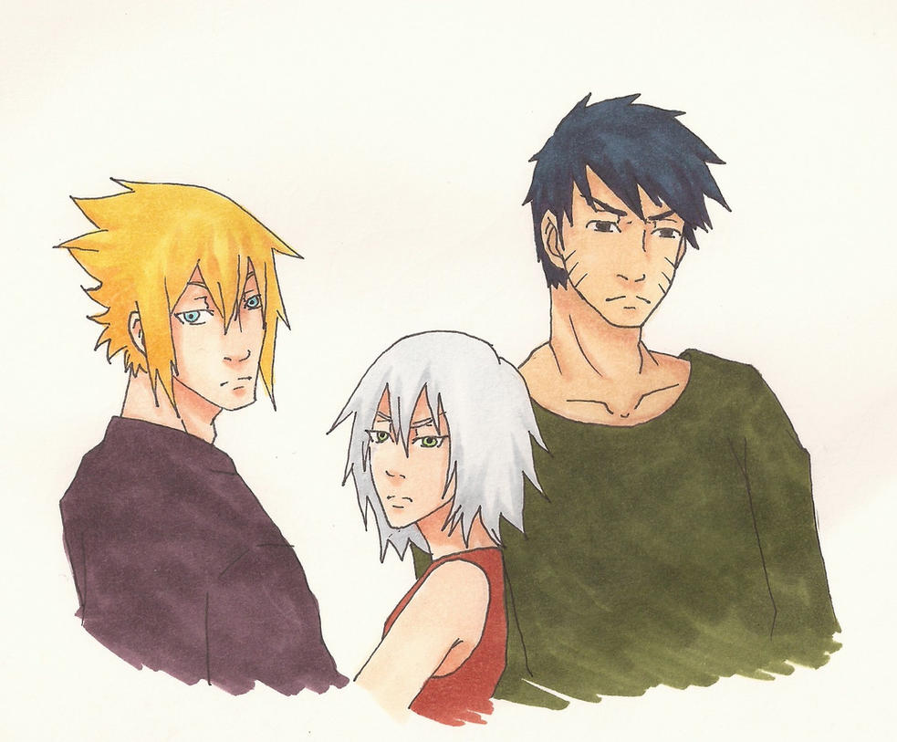 Sasunaru Kakasaku Team Next Gen Young Adult By
