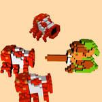 voxel legend of zelda