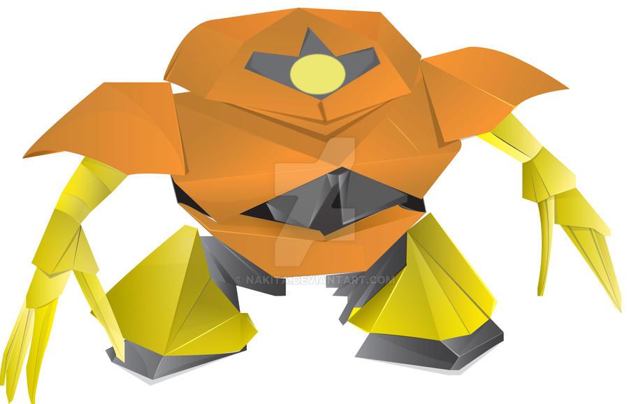 Origami Gundam By Nakita