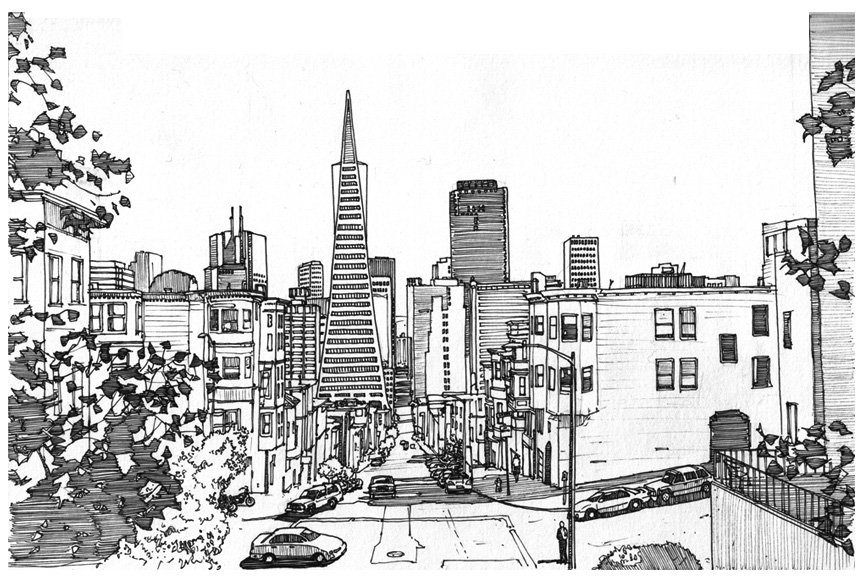 Montgomery st san francisco by edgeman13 on deviantart for Buy art san francisco