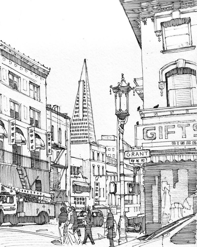 Grant avenue san francisco by edgeman13 on deviantart for Buy art san francisco