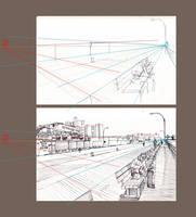Coney Island, Perspective by Edgeman13