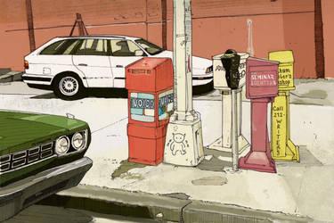 NY Side Street, Colour by Edgeman13