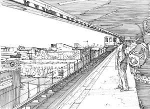 Coney Island Subway, New York