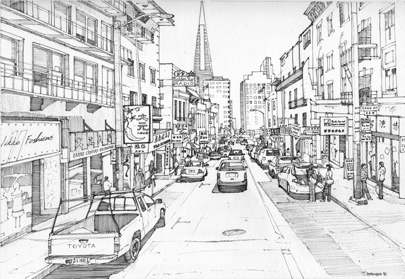 Clay street san francisco by edgeman13 on deviantart for Buy art san francisco