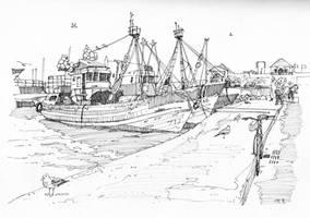 Essaouira: speed drawing