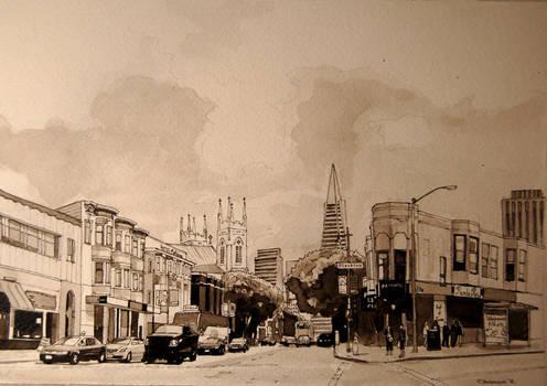 Stockton and Columbus, San Francisco