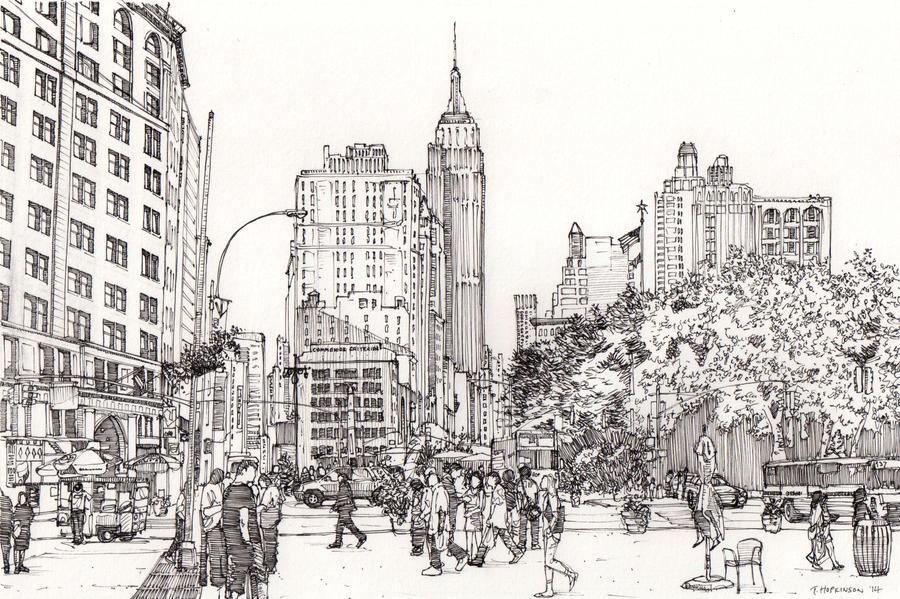 Midtown Manhattan by Edgeman13