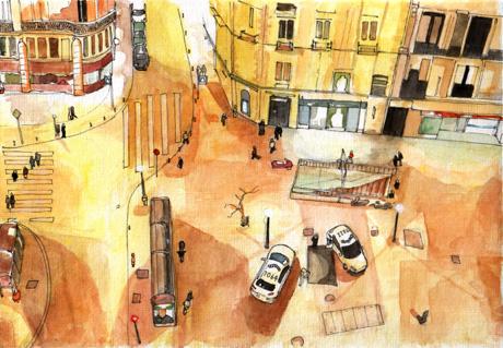 Madrid by Edgeman13