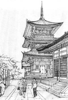 Pagoda at Kiyomizu-Dera, Kyoto